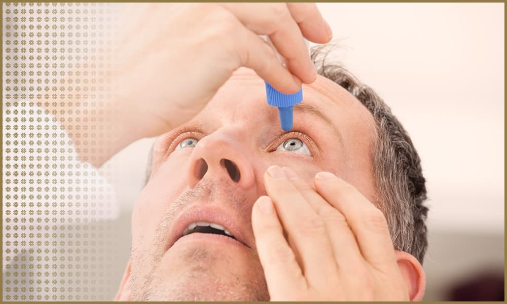 Doctor Applying Eyedrops | Dry Eye Treatment | Eye Surgeons | Vision Surgery Consultants